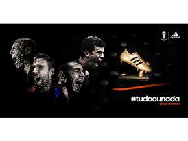 adidas lidera artilharia de gols na Copa do Mundo da FIFA™