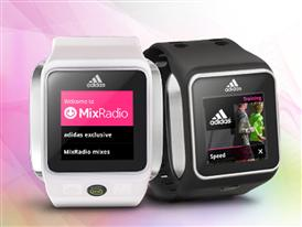 adidas miCoach partners with MixRadio