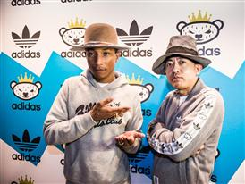 Nigo and Pharrell