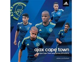 adidas Ajax Cape Town Away Kit Instagram