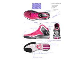 adidas D Rose 5 Boost Sketch, 1