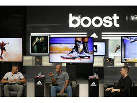 Damian Lillard (L), Greg Anthony & Robbie Fuller (R), Crazy Light Boost