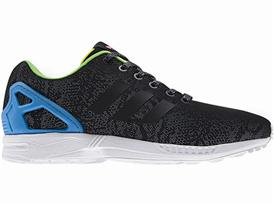 ZX Flux adidas Originals Reflective Snake Black 08
