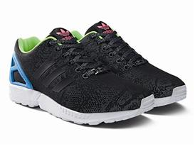 ZX Flux adidas Originals Reflective Snake Black 09