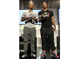 Damian Lillard & Derrick Rose - Crazy Light Boost & D Rose 5 Boost