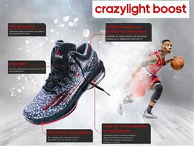 Crazylight Boost Infographic