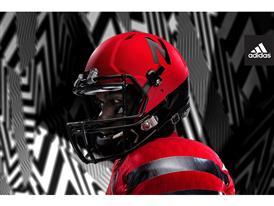 adidas NCAA Nebraska Helmet