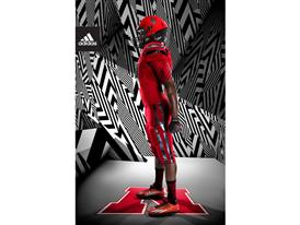 adidas NCAA Nebraska Side