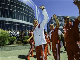 adidas Welcomes Bayern Munich World Cup Stars to Portland 2