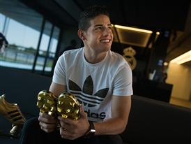 JAMES RODRÍGUEZ PRESENTED WITH ADIDAS GOLDEN BOOT AWARD 13
