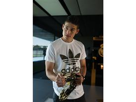 JAMES RODRÍGUEZ PRESENTED WITH ADIDAS GOLDEN BOOT AWARD 14