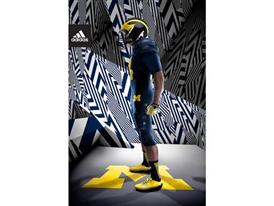 adidas Michigan Go Blue Side