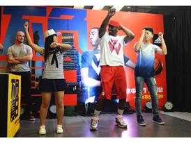 adidas John Wall Take on Summer Tour in Shenyang, China