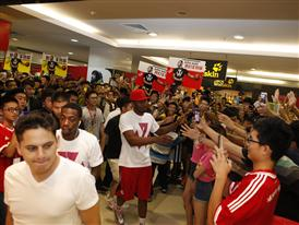 adidas John Wall Take on Summer Tour in Qingdao, China, 1