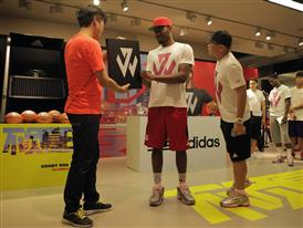 adidas John Wall Take on Summer Tour in Qingdao, China, 2