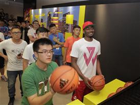 adidas John Wall Take on Summer Tour in Qingdao, China, 4
