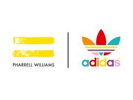 adidas Originals = PHARRELL WILLIAMS Logo WHT