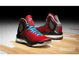 D Rose 5 Boost Red 1