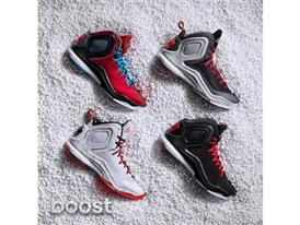 adidas D Rose 5 Boost Group, 2, Sq