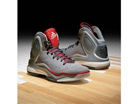 adidas D Rose 5 Boost Home Gray, G98703, 1, Sq