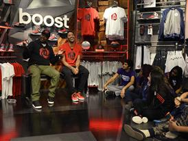 D Rose and adidas Launch D Rose 5 Boost in Chicago 3