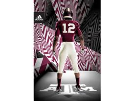adidas Texas A&M 1939 Throwback Back