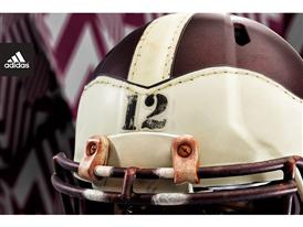 adidas Texas A&M 1939 Throwback Helmet 1