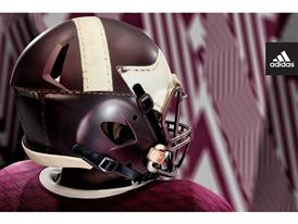 adidas Texas A&M 1939 Throwback Helmet 2