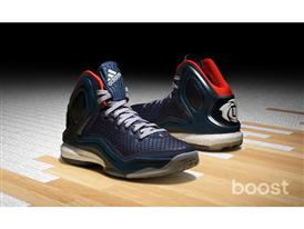 adidas D Rose 5, Woven Blues, C76547, 2, H