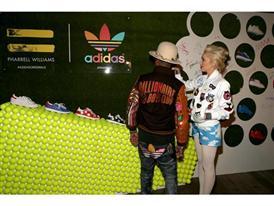 Pharrell Williams und adidas feiern ihre Kollaboration in LA 18