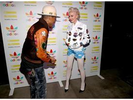 Pharrell Williams und adidas feiern ihre Kollaboration in LA 30