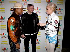 Pharrell Williams And Adidas Celebrate Collaboration 15