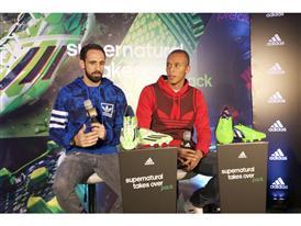 Juanfran y Miranda han presentado el Pack Supernatural de adidas