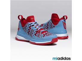 miadidas D Lillard 1 Light Blue Sq 2