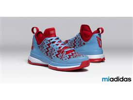 miadidas D Lillard 1 Light Blue H 2