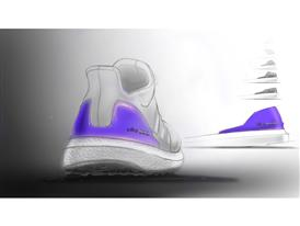 adidas Running Ultra BOOST - sketch