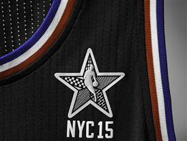 adidas NBA All-Star 2015 West Jersey, Front Patch