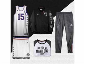 adidas NBA All-Star Collection Lay Down East