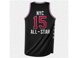 NBA All-Star Jersey West Back