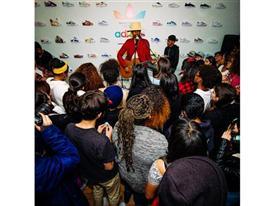 Superstar Experience: Pharrell Williams Surprises Highschool Artists 1