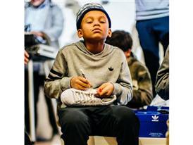 Superstar Experience: Pharrell Williams Surprises Highschool Artists 12