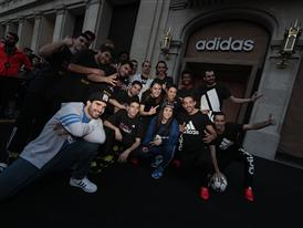 adidas store Barcelona 74