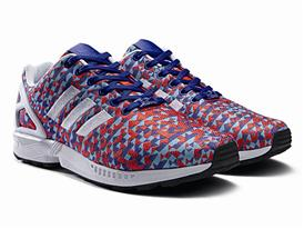 adidas Originals ZX FLUX Prism Weave Pack 4