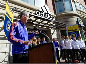 adidas and B.A.A. Officially Open RunBase 34