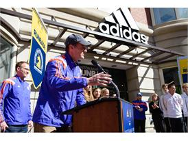 adidas and B.A.A. Officially Open RunBase 40