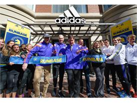 adidas and B.A.A. Officially Open RunBase 43