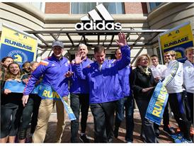 adidas and B.A.A. Officially Open RunBase 44