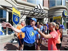 adidas and B.A.A. Officially Open RunBase 48