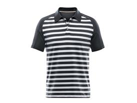 Men's Striped Polo