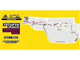 Open Run - Gazi Map